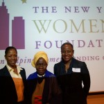 Queen Mother Dr. Delois Blakely Community Mayor of Harlem Goodwill Ambassador to Africa Sharon Joseph, Co-Owner, Harlem Lanes