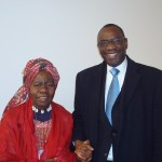 Queen Mother and Mr Diarra