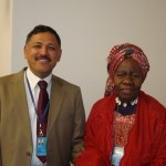 Mr Karki and Queen Mother Dr. Blakely