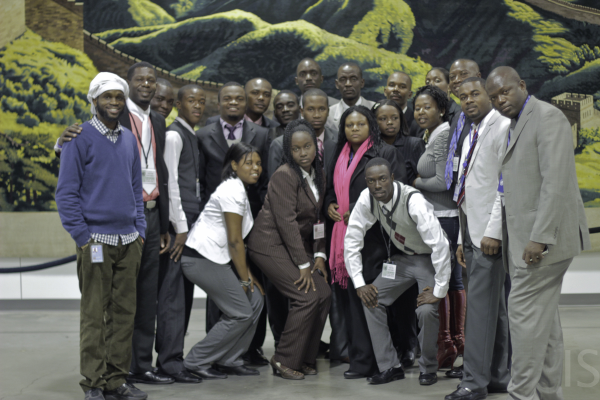 Youth Delegates from Haiti visit the United Nations